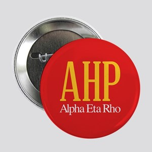 "Alpha Eta Rho Letters 2.25"" Button"