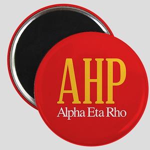 Alpha Eta Rho Letters Magnet