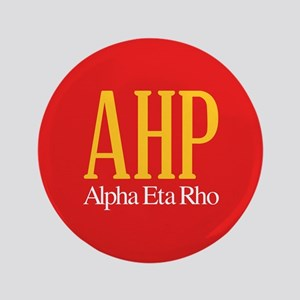 Alpha Eta Rho Letters Button
