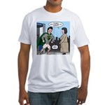 Not So Super Mondays Fitted T-Shirt