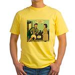 Not So Super Mondays Yellow T-Shirt