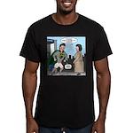 Not So Super Mondays Men's Fitted T-Shirt (dark)