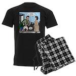 Not So Super Mondays Men's Dark Pajamas
