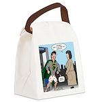 Not So Super Mondays Canvas Lunch Bag