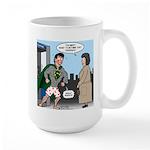 Not So Super Mondays Large Mug