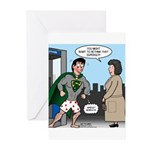 Not So Super Mondays Greeting Cards (Pk of 10)
