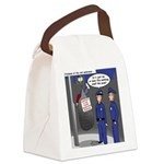 Spider Webbing Canvas Lunch Bag