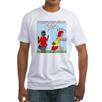 Real Spider Man Girl Problems Fitted T-Shirt