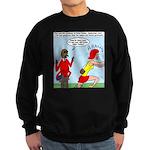 Real Spider Man Girl Problems Sweatshirt (dark)