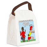 Real Spider Man Girl Problems Canvas Lunch Bag