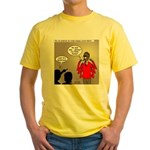 Real Spider Man Identity Crisis Yellow T-Shirt