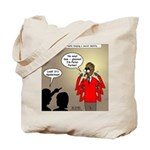 Real Spider Man Identity Crisis Tote Bag