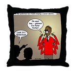 Real Spider Man Identity Crisis Throw Pillow