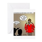 Real Spider Man Identity Crisis Greeting Cards (Pk