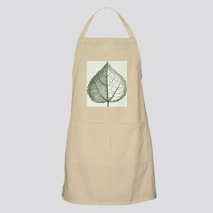 A Beautiful  Leaf of Spring Apron