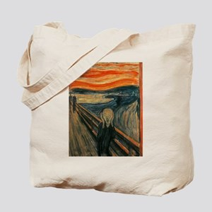 The Scream (Edvard Munch) Tote Bag