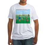 Soybean Maze Fitted T-Shirt