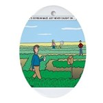 Soybean Maze Ornament (Oval)