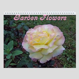 Garden Flowers Wall Calendar