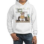 Giant Snail Escape Hooded Sweatshirt