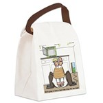 Giant Snail Escape Canvas Lunch Bag