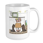 Giant Snail Escape Large Mug