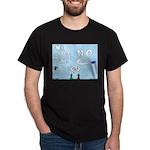 Sky Writing Proposal Dark T-Shirt
