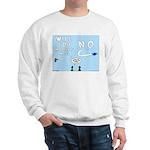 Sky Writing Proposal Sweatshirt