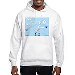 Sky Writing Proposal Hooded Sweatshirt