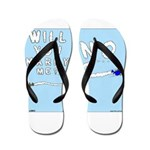 Sky Writing Proposal Flip Flops