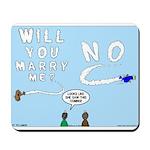 Sky Writing Proposal Mousepad