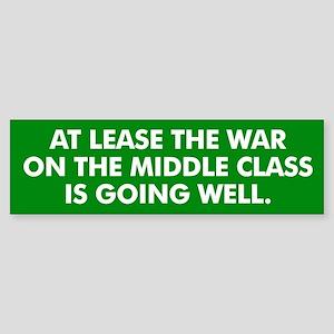 Middle Class Warfare Bumper Sticker