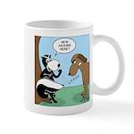 Dog Meets Skunk Mug