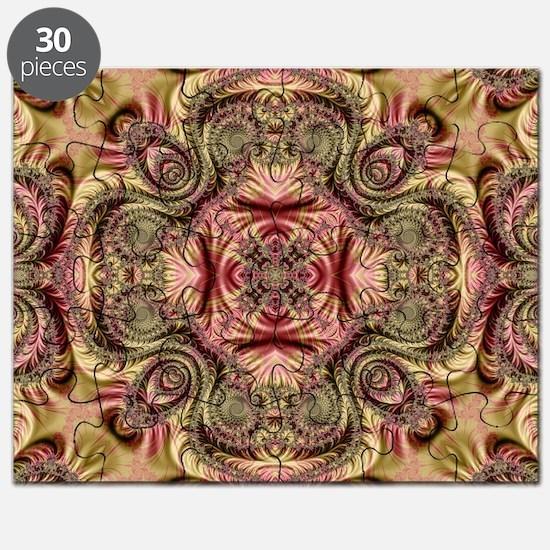 Kaleidoscope Fractal 404 Puzzle