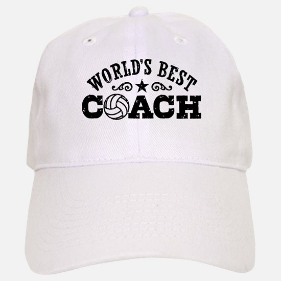 World's Best Volleyball Coach Baseball Baseball Cap