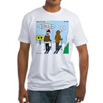 Idiot Skiers Fitted T-Shirt