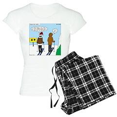 Idiot Skiers Pajamas