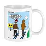 Idiot Skiers Mug