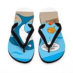 Shark Chum Flip Flops
