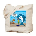 Shark Chum Tote Bag
