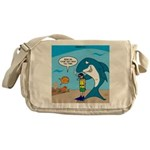 Shark Chum Messenger Bag