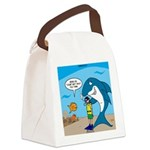 Shark Chum Canvas Lunch Bag