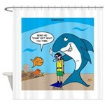 Shark Chum Shower Curtain