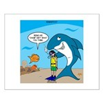 Shark Chum Small Poster