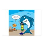 Shark Chum Postcards (Package of 8)