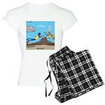 SCUBA Surprise Women's Light Pajamas