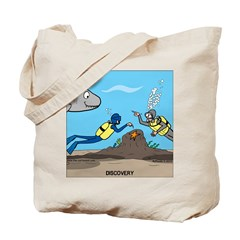 SCUBA Surprise Tote Bag