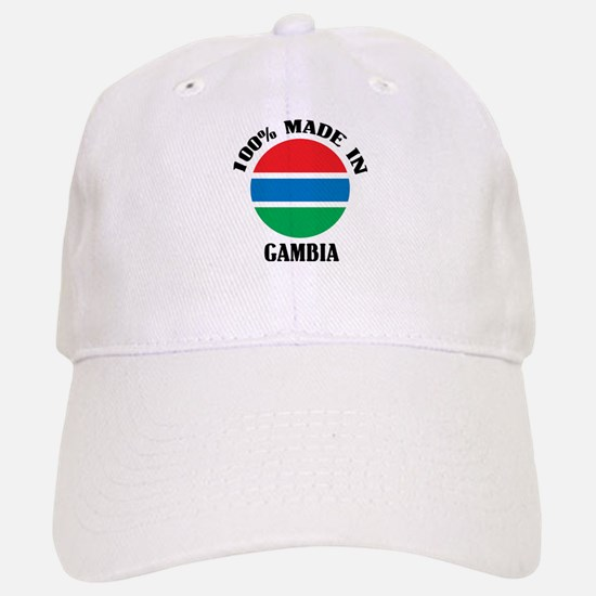 Made In Gambia Baseball Baseball Cap