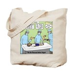Puppet TV Program Tote Bag