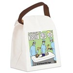 Puppet TV Program Canvas Lunch Bag